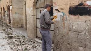 Midyattaki 500 yıllık tarihi çarşı ile yapı restore ediliyor