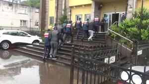 Artvinde jandarmadan uyuşturucu operasyonu: 4 tutuklama