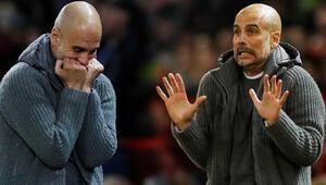 Tarih bunu da yazdı.. Guardiola, bir ilki başarınca çılgına döndü...