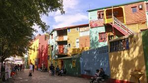 Arjantinin renkli güzelliği: La Boca