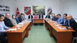Karşıyaka'da kritik toplantı yapıldı Stat zirvesi...