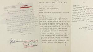 Hitler'in son telgrafı satışa çıkıyor