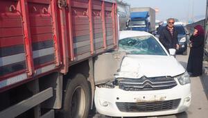 Son dakika: Kocaelide zincirleme trafik kazası