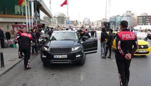 İstanbulda Kurt Kapanı-5 uygulaması... Bir çok noktada denetim yapıldı