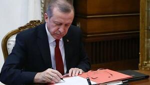 Cumhurbaşkanı Erdoğan, 5 üniversiteye rektör atadı
