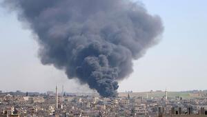 İdlib Gerginliği Azaltma Bölgesine hava saldırısı