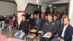 Tokatta mahallelerde Huzur Toplantısı yapılıyor