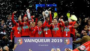 Fransa Kupasını Rennes kazandı
