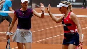 Çiftlerde şampiyon Timea Babos-Kristina Mladenovic