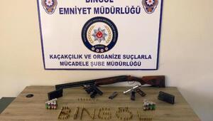 Bingöl ve Muşta silah kaçakçılığı operasyonu: 14 gözaltı