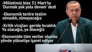 Cumhurbaşkanı Erdoğandan önemli mesajlar