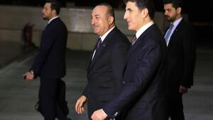 Dışişleri Bakanı Çavuşoğlu, Erbilde