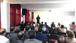 Bingölde öğretmenlere uyuşturucuyla mücadele semineri