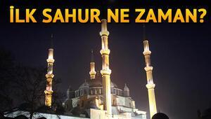 İlk oruç ne zaman Ramazanın başlangıcı hangi gün