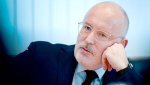Timmermans: Avrupa gerçekten çökebilir
