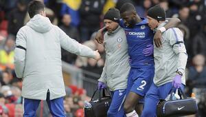 Chelseaye Rüdiger şoku Sezonu kapattı...
