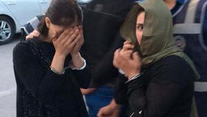 Günübirlik hırsızlık için Konyaya gelen 2 kadın yakalandı