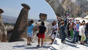 Kapadokyada 1 Mayıs yoğunluğu