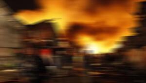 Güney Korede korkutan yangın