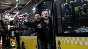 Beşiktaştan derbi açıklaması Taraftarlar toplu götürülecek