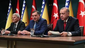 Cumhurbaşkanı Erdoğan: Türk Akımın Bosna Herseke intikali için her türlü desteği vereceğiz