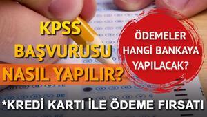 KPSS başvuru ücretleri ne kadar 2019 KPSS başvurusu nasıl yapılacak