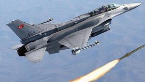 Irakın kuzeyine hava harekatı: Terör hedefleri imha edildi