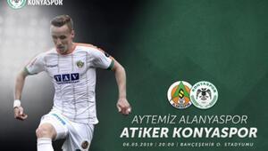 Atiker Konyaspordan Josef Surallı maç paylaşımı
