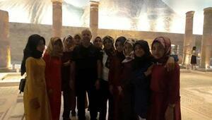 Adıyamanlı 270 öğrenci, Gaziantep'i gezdi