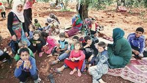 Mülteciler TSK yakınlarına sığınıyor