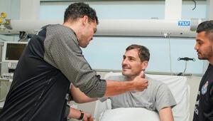 Pepe, Casillası ziyaret etti