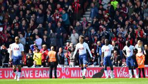 Tottenhamda düşüş sürüyor