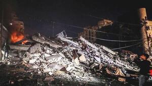 İsrail'den Gazze'ye bombardıman