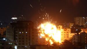 İsrailin Gazzeye düzenlediği saldırılarda şehit sayısı 7ye yükseldi