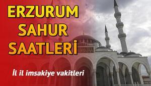 Erzurumda sahur kaçta İl il sahur saatleri ve imsakiye bilgileri