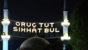 İlk teravihte Eyüp Sultan Camii doldu taştı