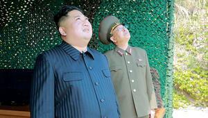 Füze testini Kim de izledi