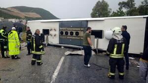 Milastaki otobüs kazasında ölü sayısı 3e yükseldi