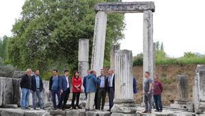Antik dönemin en büyük kutsal alanı ayağa kaldırılacak