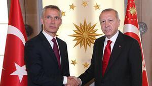 Cumhurbaşkanı Erdoğan, Stoltenbergi Çankaya Köşkünde kabul etti