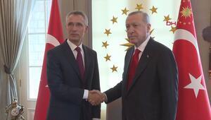 Erdoğan, NATO Genel Sekreteri Jens Stoltenbergi kabul etti
