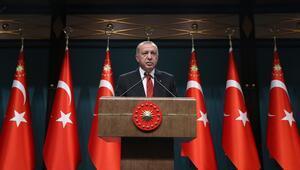 Cumhurbaşkanı Erdoğan, Devlet Övünç Madalyası Tevcih Töreninde konuştu