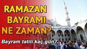 Bayram hangi tarihte Ramazan Bayramı tatili kaç gün
