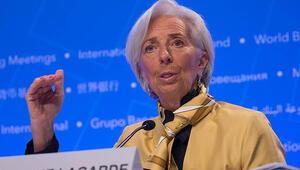 IMF Başkanı Lagarde: ABD-Çin gerilimleri küresel ekonomiye tehdit