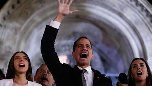 Venezueladaki kalkışmaya katılan milletvekillerinin dokunulmazlığı kaldırıldı
