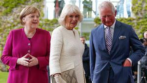 İngiltere Veliaht Prensi Charles ve eşi Camilla Almanya'da