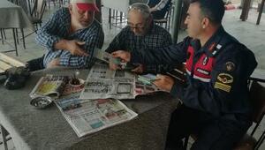 Alaşehir ve Sarıgölde traktör sürücülerine broşürlü uyarı