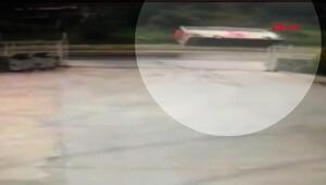 Milasta 3 kişinin öldüğü kaza güvenlik kamerasında