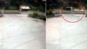 Milas'ta 3 kişinin öldüğü feci kazanın görüntüleri çıktı