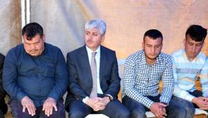 Vali Doğan şehit Ercan Canın ailesini ziyaret etti